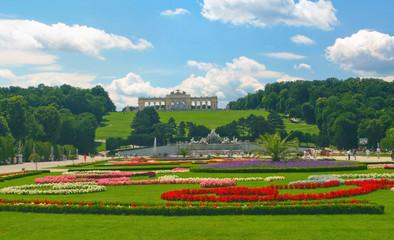Garden in Vienna.