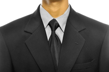 Black Business Suit