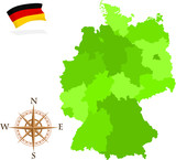 Map of German States