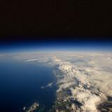 Fototapete Planentarium - Satellit - Luftaufnahmen