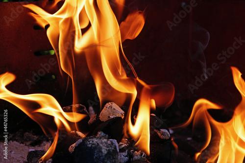 grillfeuer #1