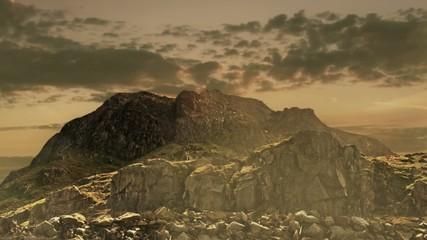 Picturesque mountain