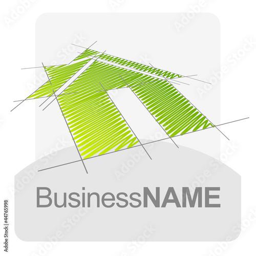 Logo maison archi