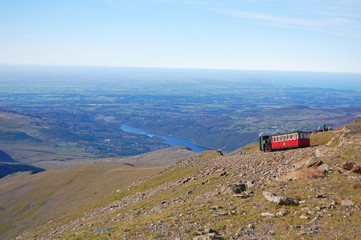 snowdon mountain train