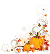 Background with Pumpkins