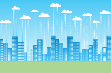 Cloud Storage City