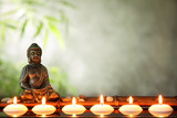 Buddha and candles
