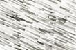 Diagonale Streifenmuster, schwarz-weiß