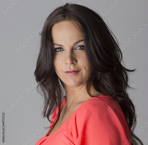 Beautiful Dark haired Mature Female Model