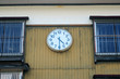 Wall clock of the school