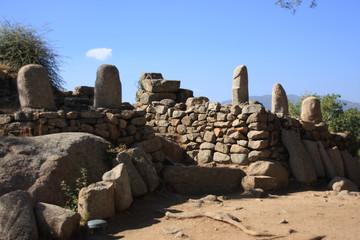 temple avec menhir