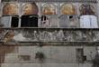 Bauruine in der Altstadt von Lissabon