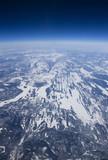 Fototapete Tundra - Arkadia - Luftaufnahmen