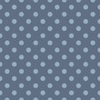 Vector seamless pattern polka dots sailor navy blue background