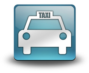 "Light Blue 3D Effect Icon ""Taxi Cab"""