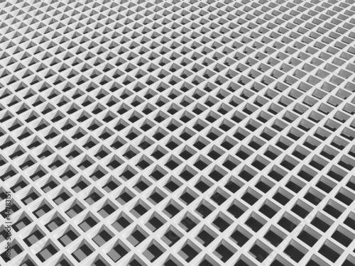 White square cellular lattice