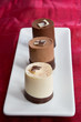 Chocolate Mousse Trio