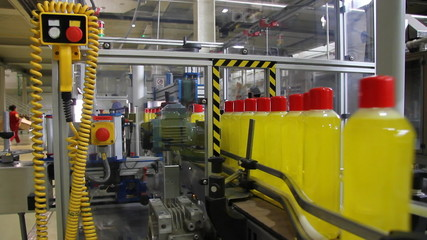 Liquid Detergent on Automated Production Line