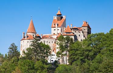 Dracula's Castle - Bran Castle in Transylvania, Romania