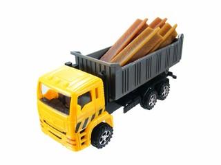 Lorry with Dog Chew Sticks