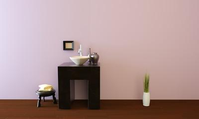 Bathroom in modern design