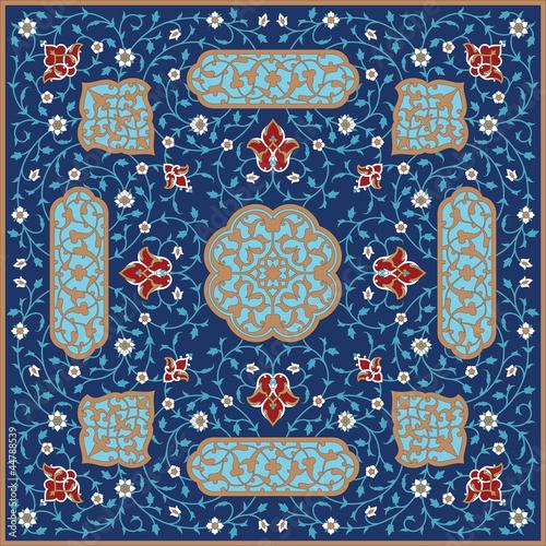 Rashid Complex Floral Ornament