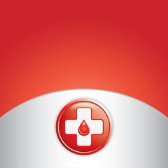 Blood donation vector.