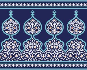 Tanger Seamless Floral Border