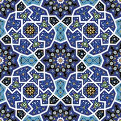 Tanger Seamless Flower Pattern