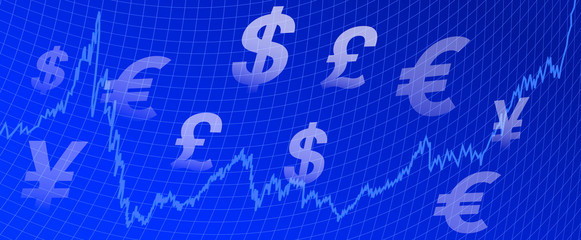 Graph Money background