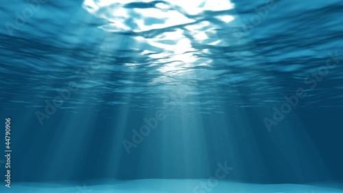 Poster Water planten light underwater loop