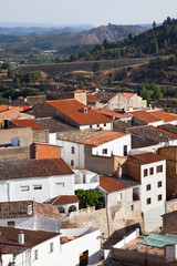 Spanish typical village, Cofrentes.
