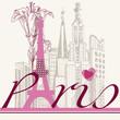 Fototapeten,paris,eiffelturm,frankreich,lily