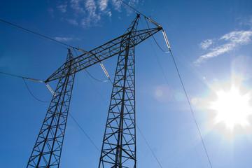 electricidad, alta tensión