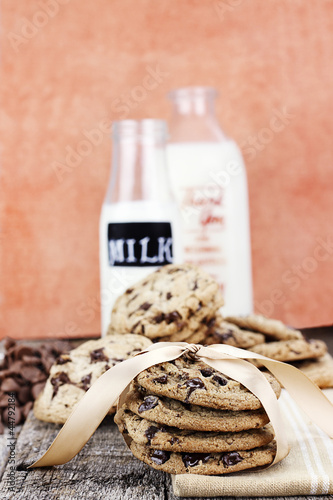 Chocolate Chip Cookies and Cream
