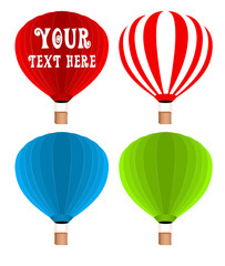 Hot Air Balloons Vectors