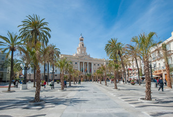 Cadiz old Town hall, Spain