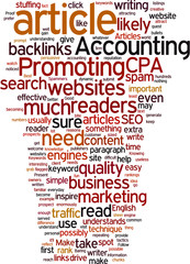 Promoting Accounting Concept
