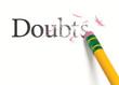 Erasing Doubts