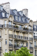 typical French buildings