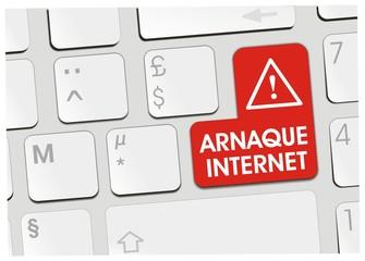 clavier arnaque internet