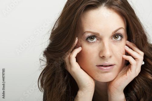 Portrait einer hübschen Frau