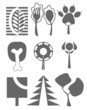 Trees Icon set