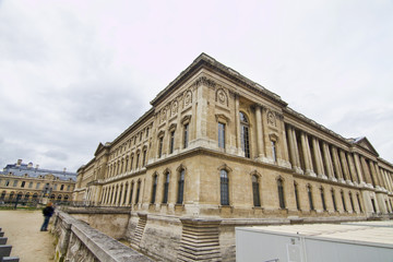 Museum of the Louvre in Paris, France