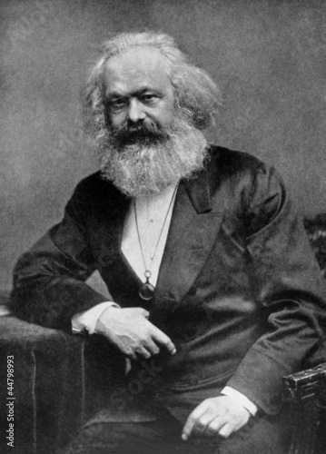 canvas print picture Karl Marx
