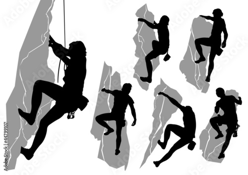 Collection of climbers