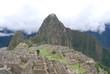 Vista general del Machu Picchu. Peru