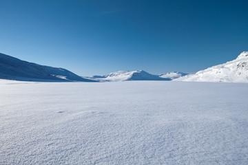 Kungsleden - Winterlandscape