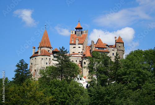 Bran Castle near Brasov in Transylvania, Romania