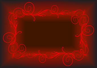 Elegant red background.